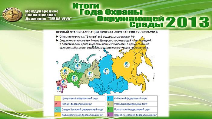 в 8 федеральных округах РФ