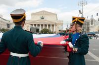 Самый большой Флаг России – на Красной Площади