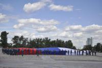 ТОРЖЕСТВЕННЫЕ МЕРОПРИЯТИЯ в ознаменование  празднованию Дня России  в рамках реализации проекта «Знамя Победы 2015-2020»